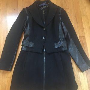 Guess wool pea coat